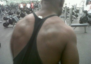 Frantz Working Out 2