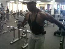 Frantz Working Out
